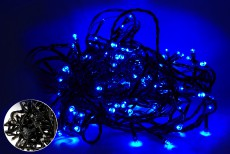 ГИРЛЯНДА LED 400 BLUE (BLACK)